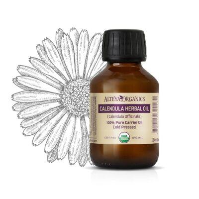 Alteya Organics Calendula Oil (Calendula officinalis) - organic 100ml