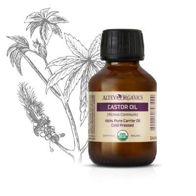 Alteya Organics Castor Oil (Ricinus communis) - organic 100ml