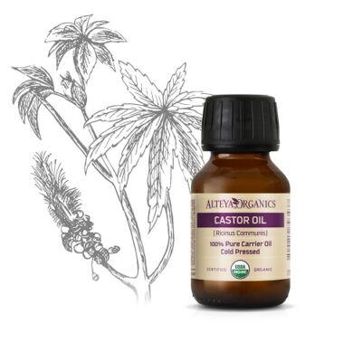 Alteya Organics Castor Oil (Ricinus communis) - organic 50ml