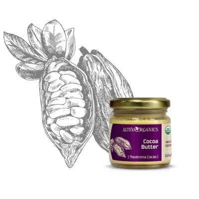 Alteya Organics Cocoa Butter (Theobroma cacao) - organic 100ml