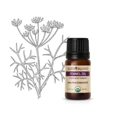 Alteya Organics Fennel (Foeniculum vulgare) Essential Oil - organic 5ml