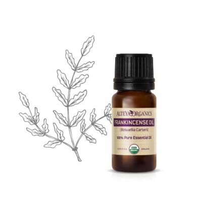 Alteya Organics Frankincense (Boswellia carterii) Essential Oil - organic 5ml