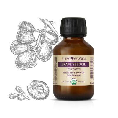 Alteya Organics Grape Seed Oil (Vitis vinifera) - organic 100ml