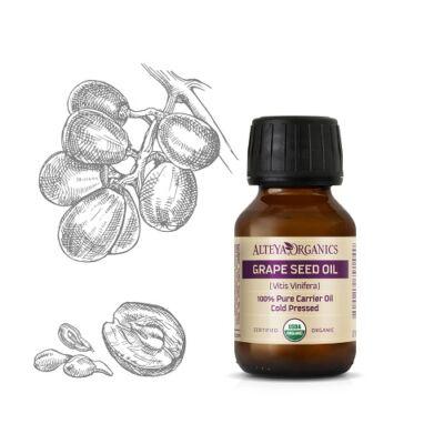 Alteya Organics Grape Seed Oil (Vitis vinifera) - organic 50ml