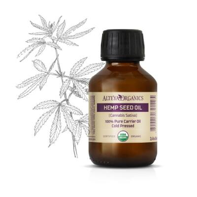 Alteya Organics Hemp Seed Oil (Cannabis sativa) - organic 100ml