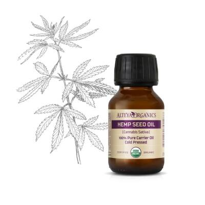 Alteya Organics Hemp Seed Oil (Cannabis sativa) - organic 50ml