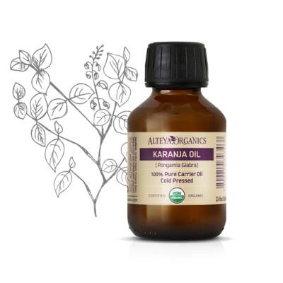Alteya Organics Karanja Oil (Pongamia glabra) - organic 100ml