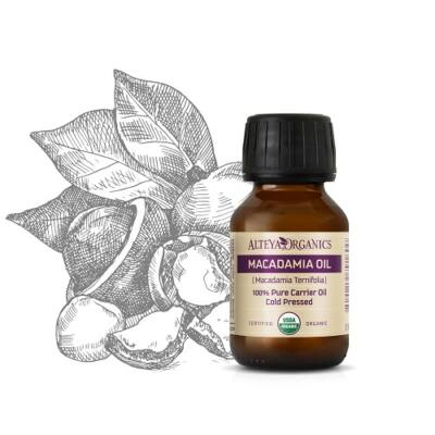 Alteya Organics Macadamia Oil (Macadamia integrifolia) - organic 50ml