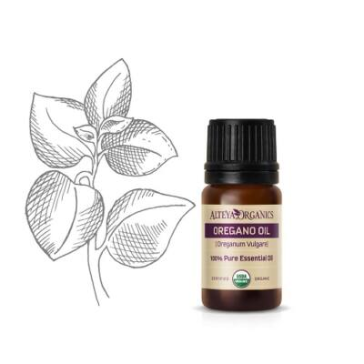 Alteya Organics Oregano (Oregano vulgare) Essential Oil - organic 5ml