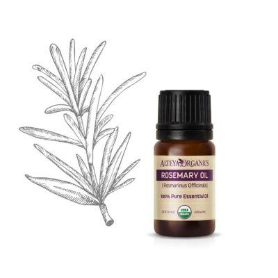 Alteya Organics Rosemary Cineol (Rosmarinus officinalis c.t. Cineol) Essential Oil - organic 5ml