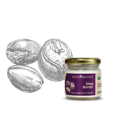 Alteya Organics Shea Butter (Butyrospermum parkii) - organic 100ml