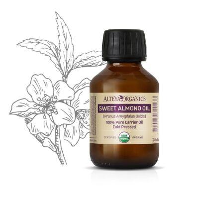 Alteya Organics Sweet Almond Oil (Prunus dulcis) - organic 100ml