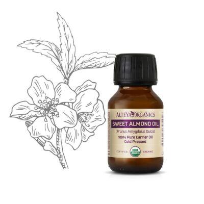 Alteya Organics Sweet Almond Oil (Prunus dulcis) - organic 50ml