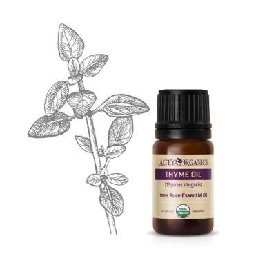 Alteya Organics Thyme (Thymus vulgaris c.t. thymol) Essential Oil - organic 5ml