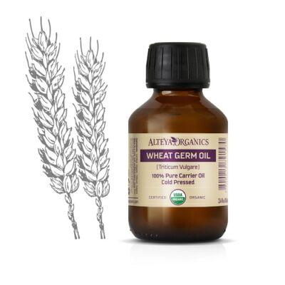 Alteya Organics Wheat Germ Oil (Triticum vulgare) - organic 100ml