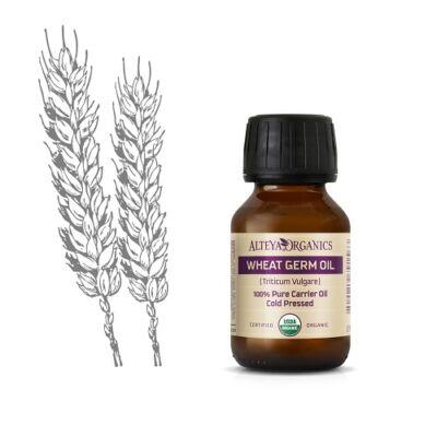 Alteya Organics Wheat Germ Oil (Triticum vulgare) - organic 50ml