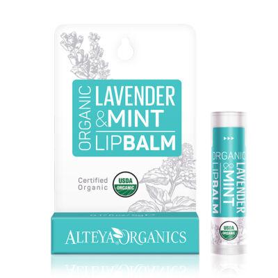Alteya Organics Lip Balm - Lavender Mint 5g