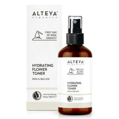 Alteya Organics Rose & Mullein Hydrating Flower Toner 120ml