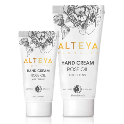 Alteya Organics Hand Cream Rose Oil 90ml