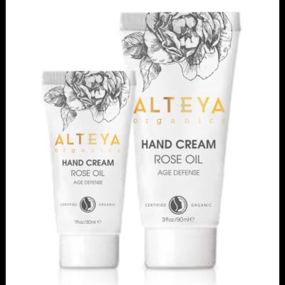 Alteya Organics Bio Rózsa hidratáló kézkrém 30ml