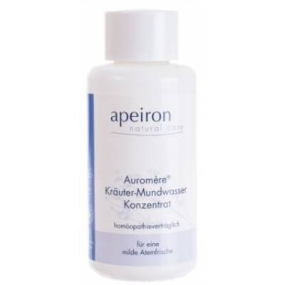 Apeiron Auromère Herbal Mouthwash Concentrate - Homeopathy compatible 100ml