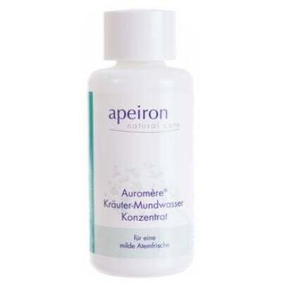 Apeiron Auromère Herbal Mouthwash Concentrate 100ml