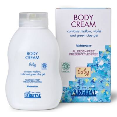 Argital Allergen Free Protective Body Cream with Mallow 250ml