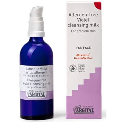Argital Allergen Free Violet Cleansing Milk 100ml