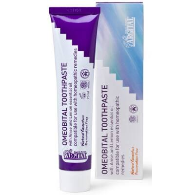 Argital Omeobital Toothpaste - Homeopathically Compatible 75ml