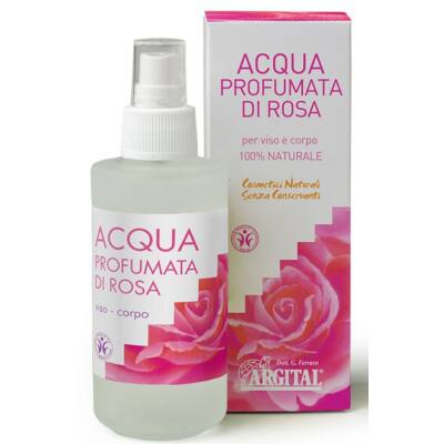 Argital Rose Floral Water 125ml