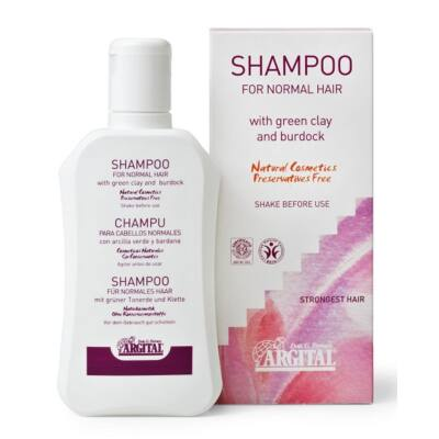 Argital Shampoo for Normal or Dry Hair with Green Clay and Burdock Root extract 250ml