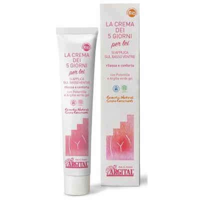 Argital Five Day Cream for Her - Relief from Menstural Discomfort 30ml