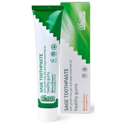 Argital Sage Toothpaste for Healthy Gums 75ml