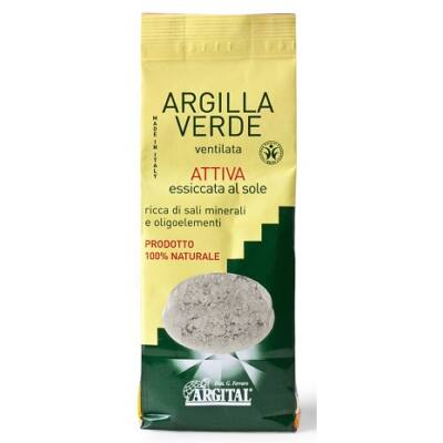 Argital Ventilated Activated Green Clay 500g