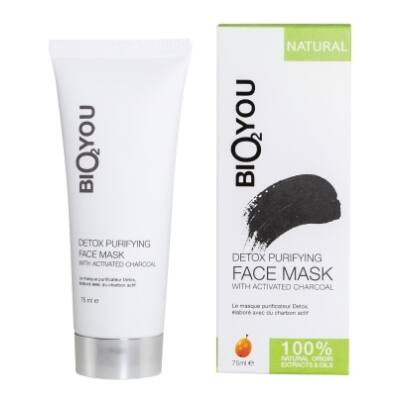 Bio2You Detox Purifying Face mask with Activated Charcoal 75ml