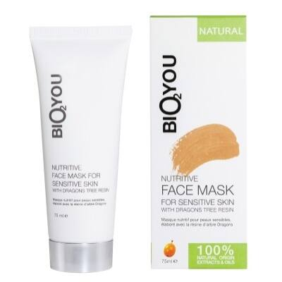 Bio2You Nutritive Face Mask for Sensitive Skin with Dragons Tree Resin 75ml