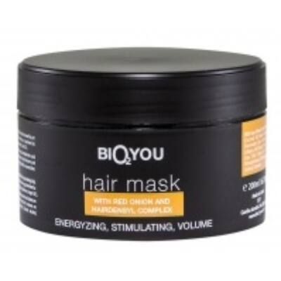 Bio2You Natural Hair Mask with Hairdensyl Complex and Red Onion 200ml