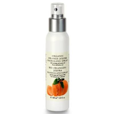 Biola Organic Orange-Jojoba Hairgloss Spray 100ml