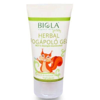 Biola Herbal toothcare gel 50ml