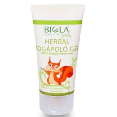 Biola Herbal Fluoride-free Toothcare Gel 50ml