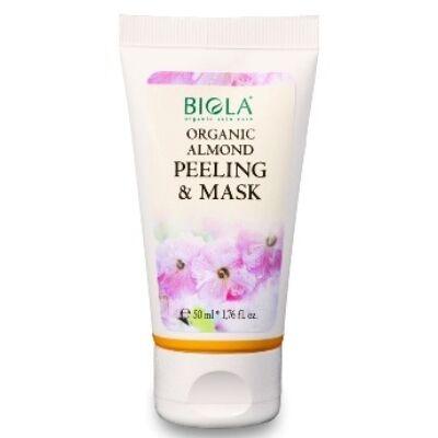 Biola Organic Almond Peeling & Mask 50ml