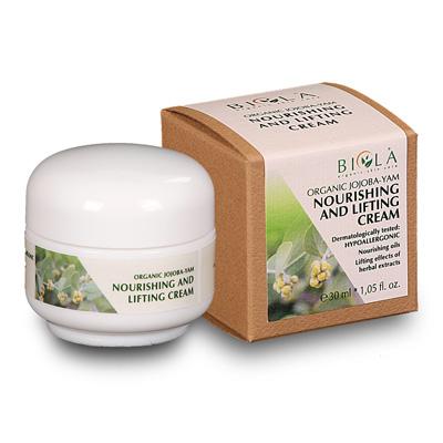 Biola Organic Jojoba-Yam Nourishing and Lifting Cream 50ml