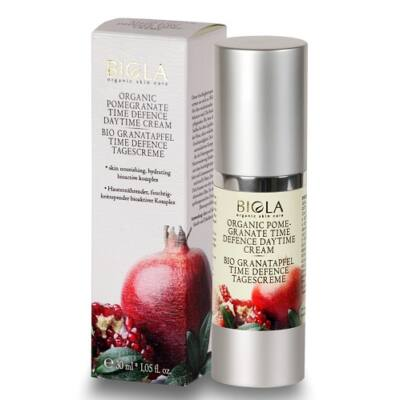 Biola Organic Pomegranate Time Defence Daytime Cream 30ml