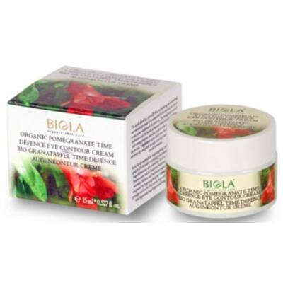 Biola Organic Pomegranate Time Defence Eye-Contour Cream 15ml
