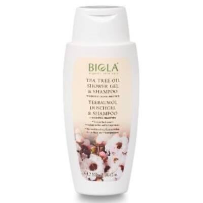 Biola Tea Tree Oil Shower Gel and Shampoo 200ml