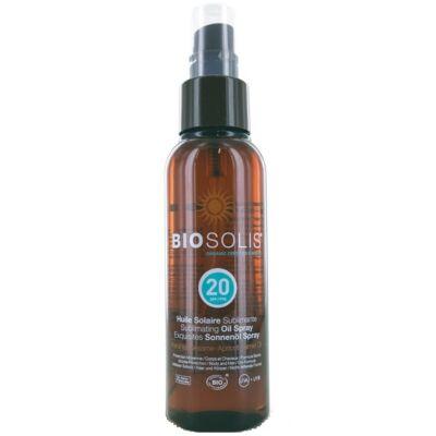 Biosolis Moisturizing Sublimating Sun Oil Spray SPF20 100ml