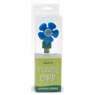 Direct Nature Flower USB Diffuser - Blue