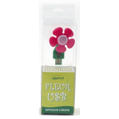 Direct Nature Flower USB Diffuser - Pink