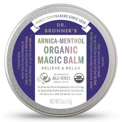 Dr. Bronner's Arnica-Menthol Organic Magic Balm 60g