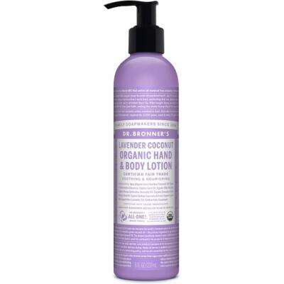 Dr. Bronner's Lavender Coconut Organic Lotion 240ml